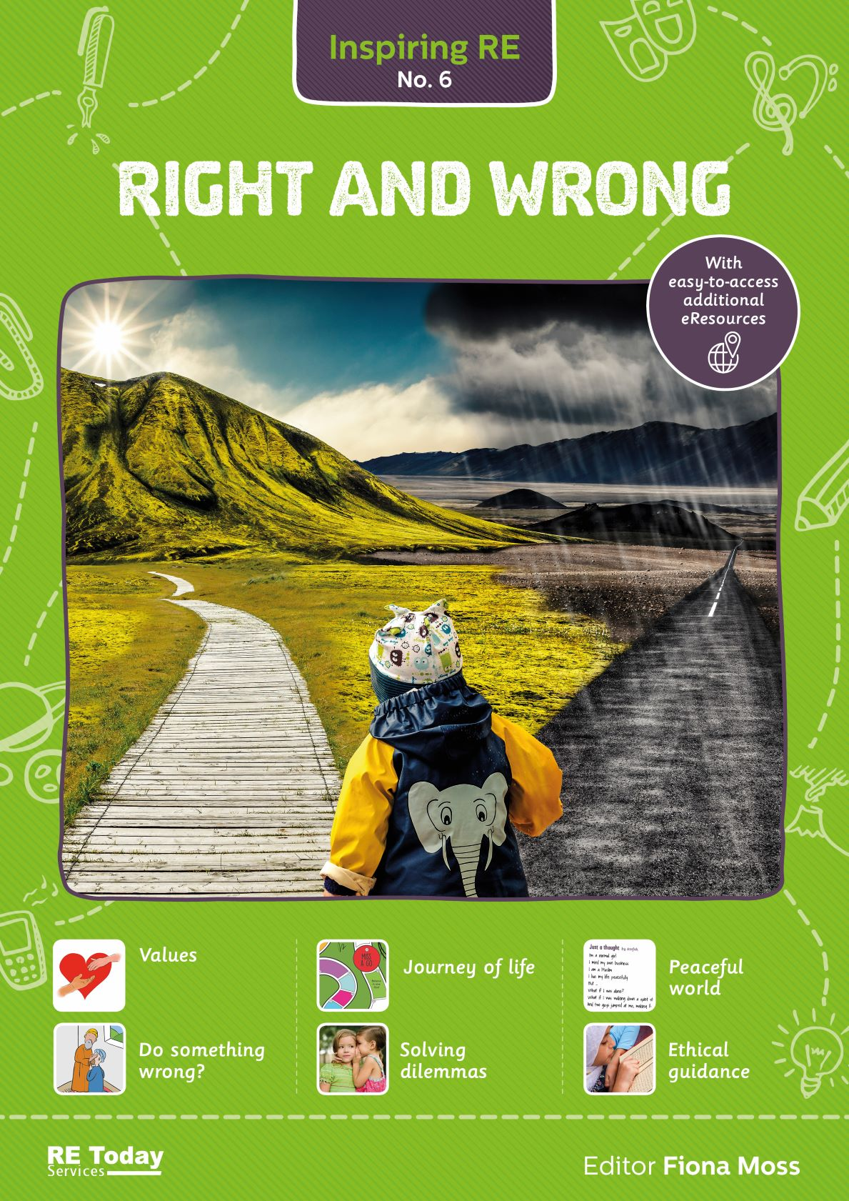 Right and Wrong primary RE curriculum book