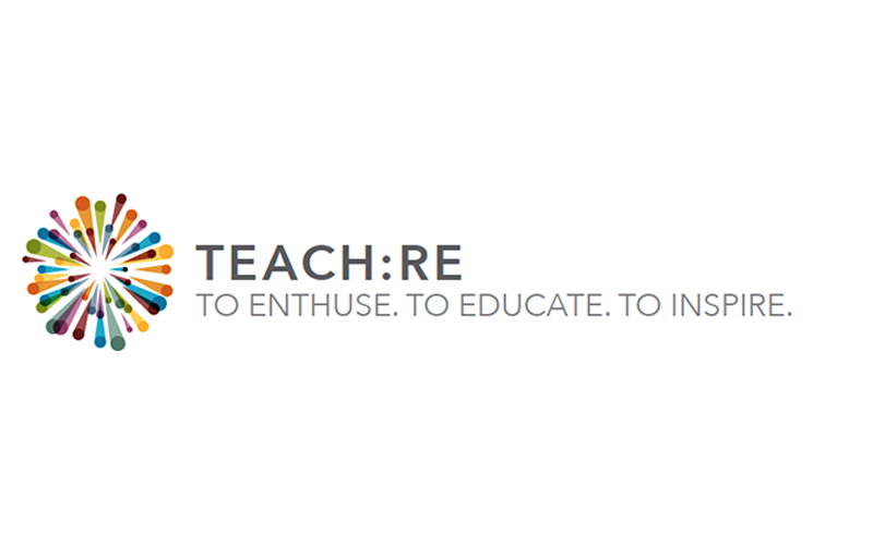 Teach RE logo